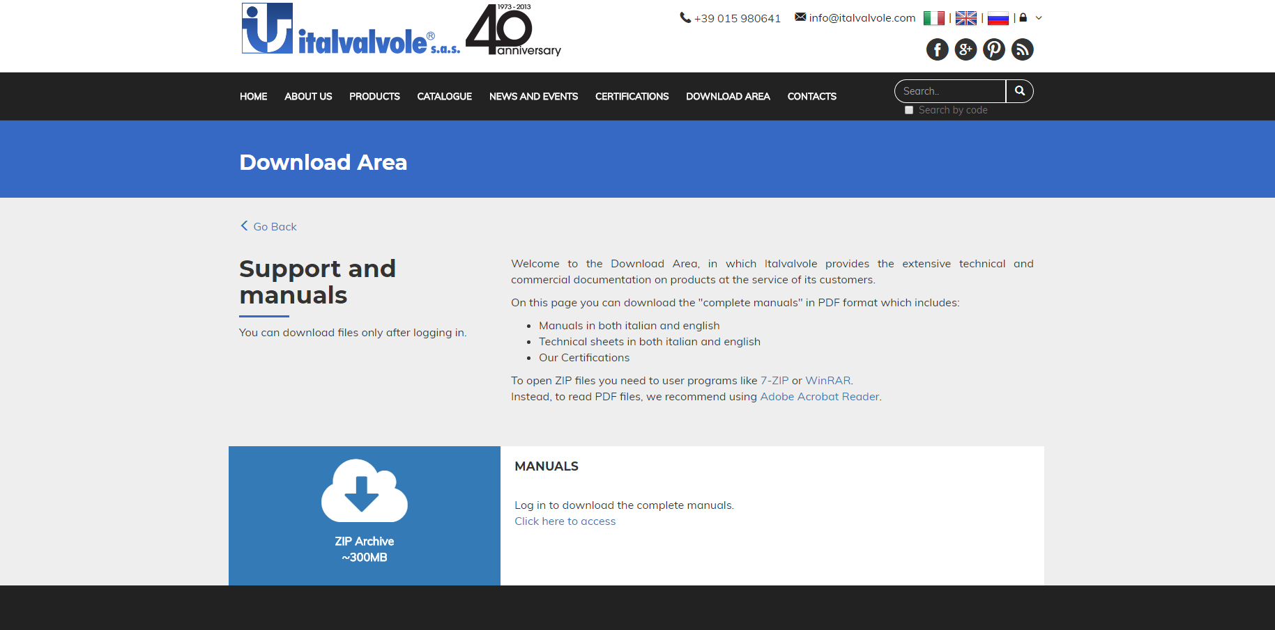 News about web site : New  DOWNLOAD Area
