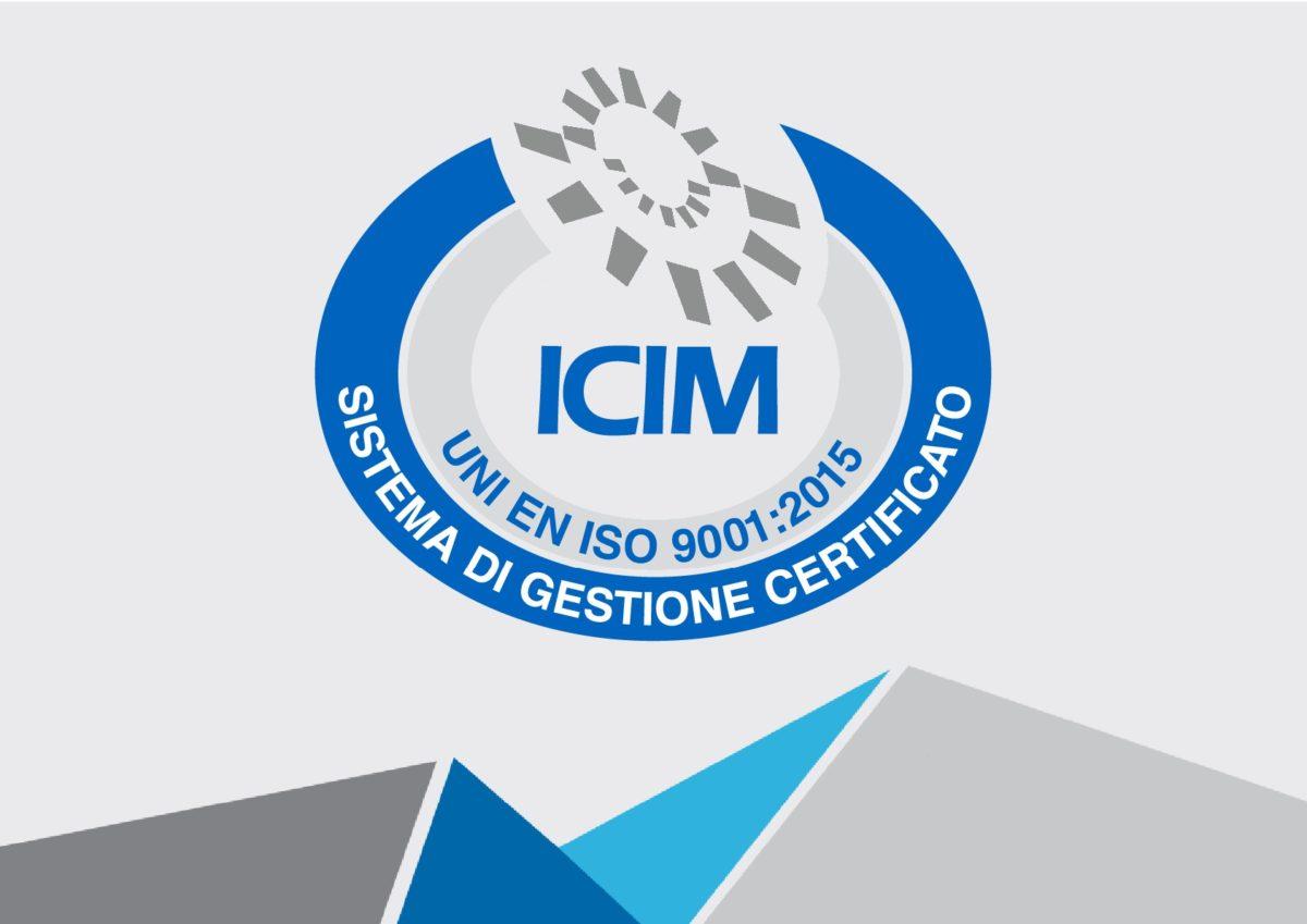 RINNOVO CERTIFICAZIONE SISTEMA GESTIONE QUALITA' UNI EN ISO 9001:2015  1